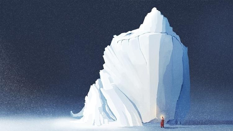 Glacier Dragon - Digitalart, art - jporta | ello
