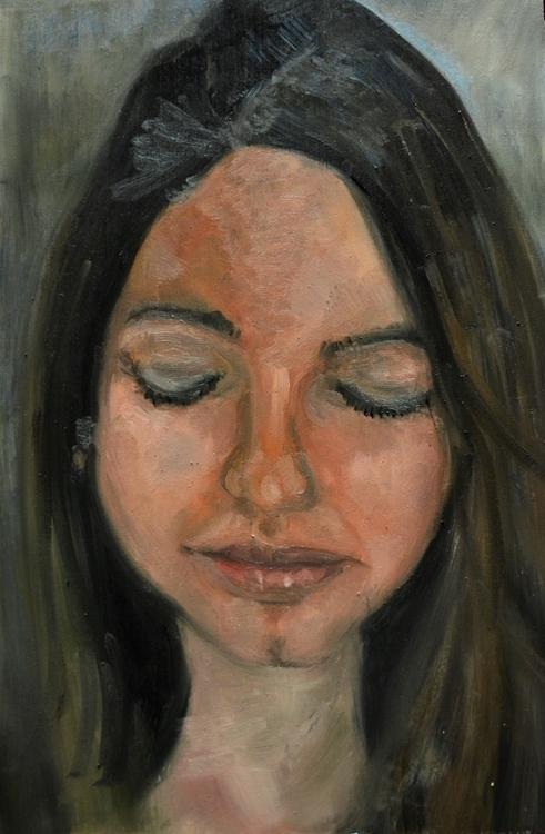 Natalia - painting, oilpainting - orduzleon   ello