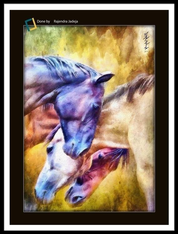 Horses - rajendrajadeja | ello