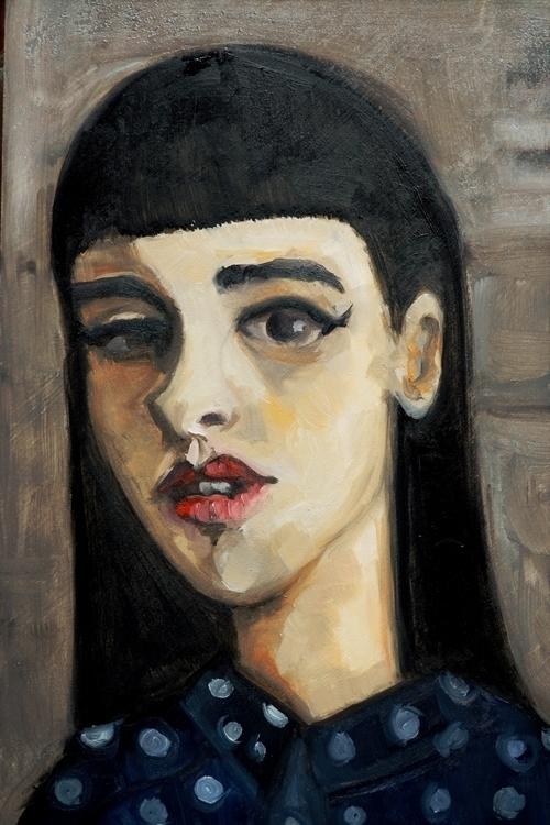 Maria - painting, oilpainting, oilpainting - orduzleon | ello