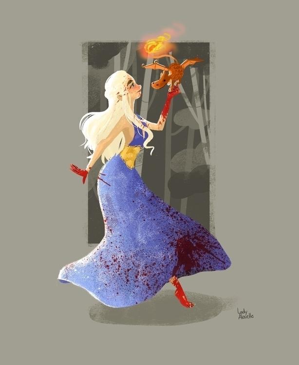 Daenerys Targaryen - daenerystargaryen - ladyalouette | ello