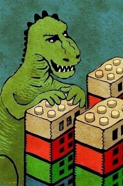 Godzilla - gabrielpalacios-9761 | ello