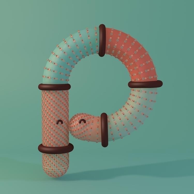 Snuggle Font: Letter Meet Font - queenlardcake | ello