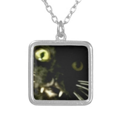 Cat pendent, necklace, charm - blackcat - farrellhamann | ello