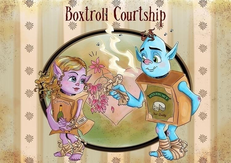 Boxtrolls fan art Sketch Dailie - irena-5620 | ello