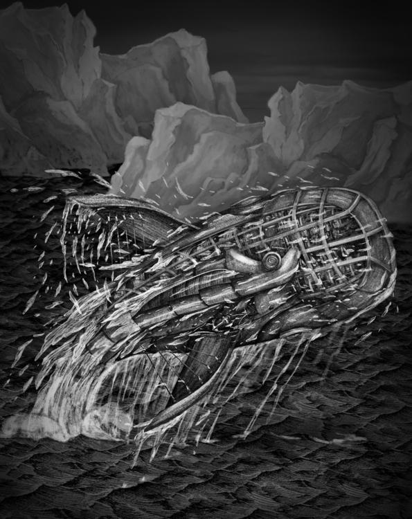 52 Hertz Whale II - yashin-7636 | ello