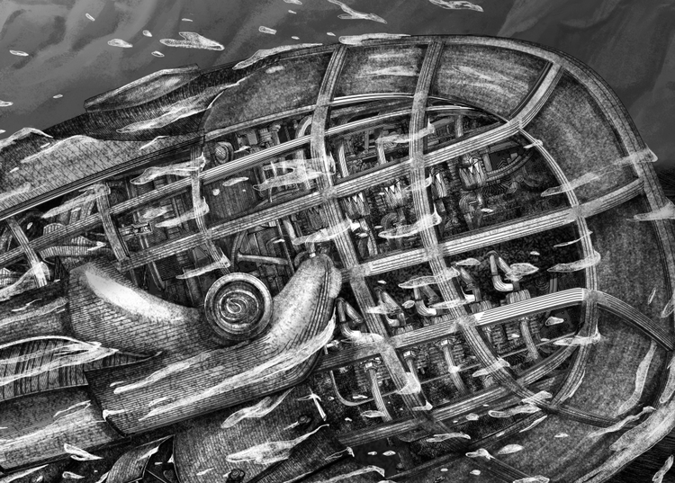 52 Hertz Whale II - detail - yashin-7636 | ello