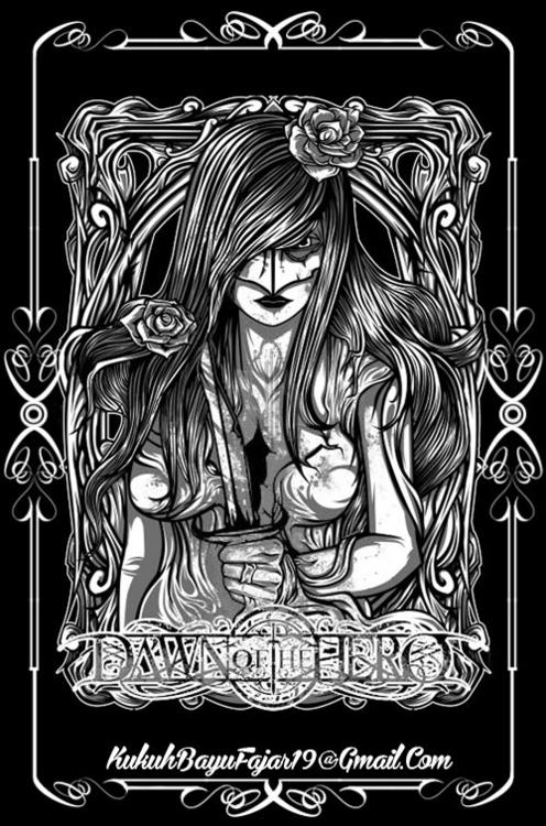 Adelia - artwork, vhayu19, pentool - vhayu19   ello