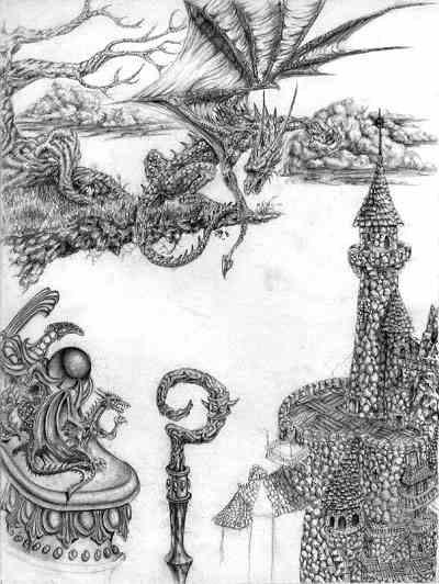 Dragon ledge - fantasy - lycius | ello