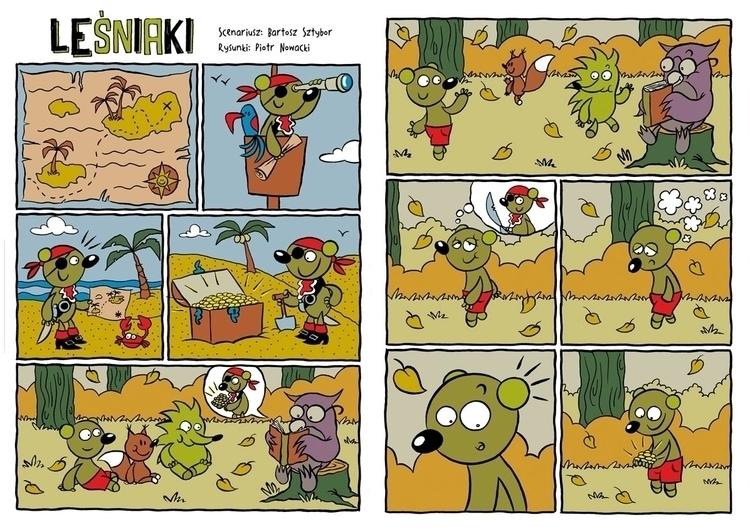 Short comics Fika magazine. Sto - piotrnowacki | ello