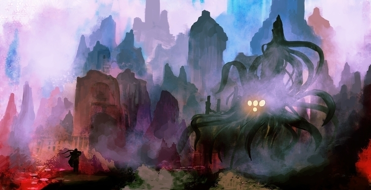 Ancient Spirit - illustration, animation - dkrai-6247 | ello