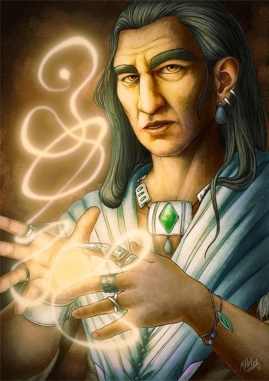 magic, fantasy, illustration - atarial | ello
