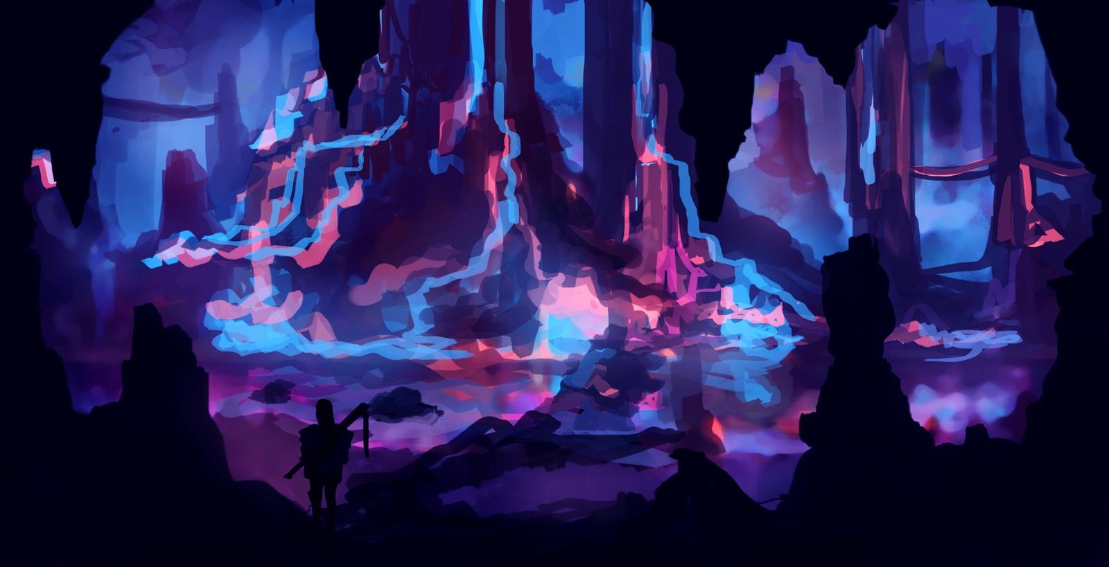 Cave Angkou - illustration, animation - dkrai-6247 | ello