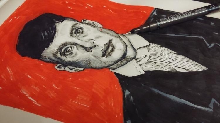 Portrait Cillian Murphy, aka To - christoff3000-1340 | ello
