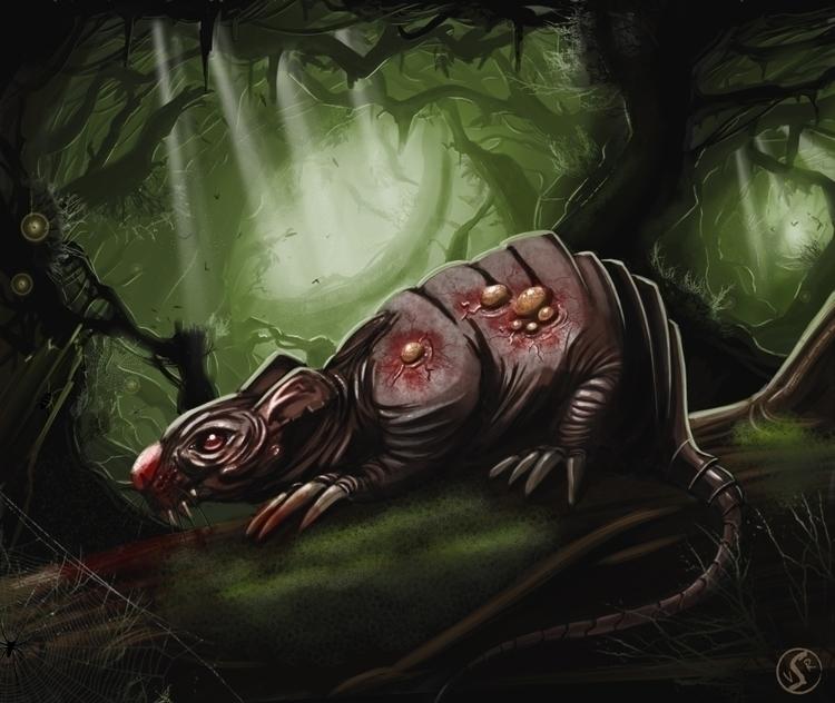 Swamp Rat Forgotten Myths - wacko_shirow   ello