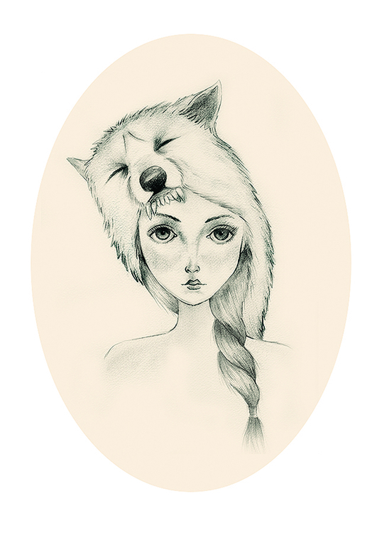 pencil, illustration, fairytale - hardknoxcreative | ello