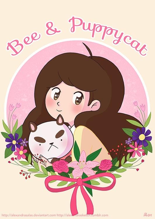 Bee Puppycat - beeandpuppycat, bee - alexandrasketch | ello