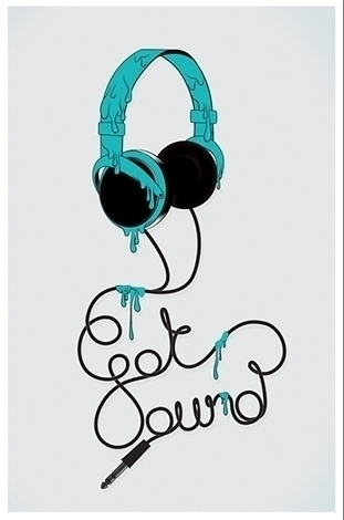 sound, vector, headphones, music - hardknoxcreative | ello