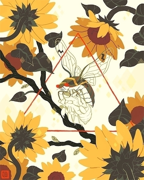 Warmth - GregWright, illustration - gregwright | ello