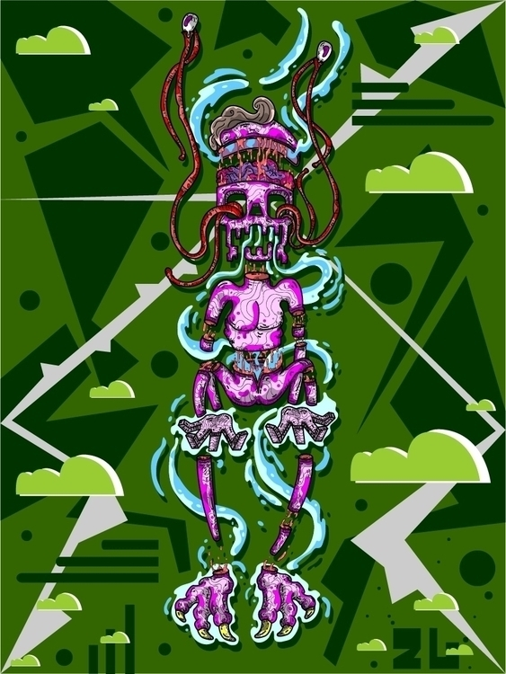 ... Lujuria - illustration, characterdesign - kamanyacosta | ello