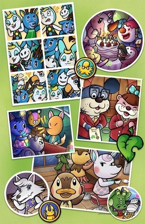 memories Animal Crossing - animalcrossing - jellysoupstudios | ello