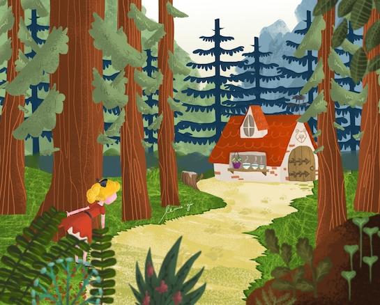Goldie - illustration, digitalart - leannepet   ello