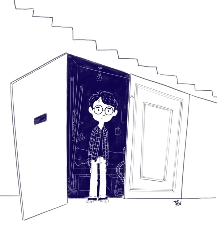 stairs 4 Privet Drive, Whinging - evapointpsd | ello