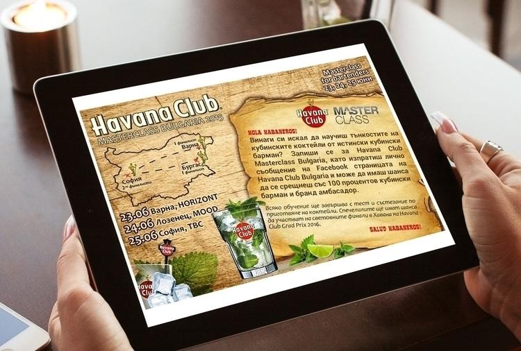 Havana Club Masterclass Bartend - danipancheva | ello
