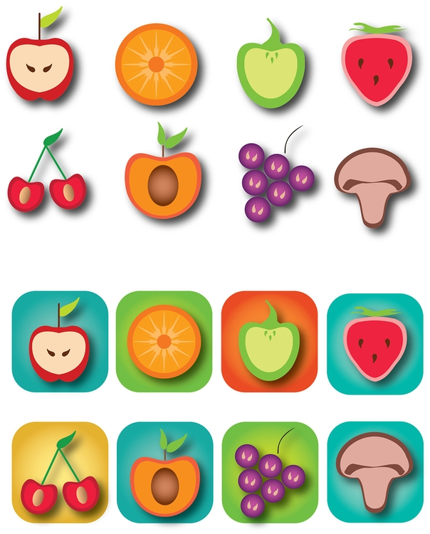 Fruit Icons - danipancheva | ello