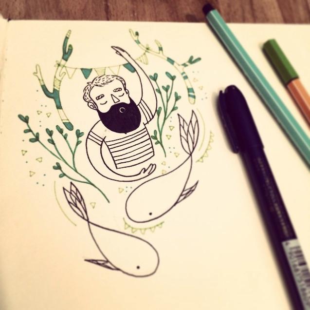 Doodling - doodle, sketchbook, evaroussel - evapointpsd | ello