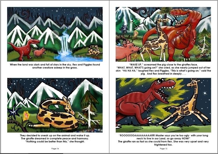 illustration, animation, painting - rigabow   ello