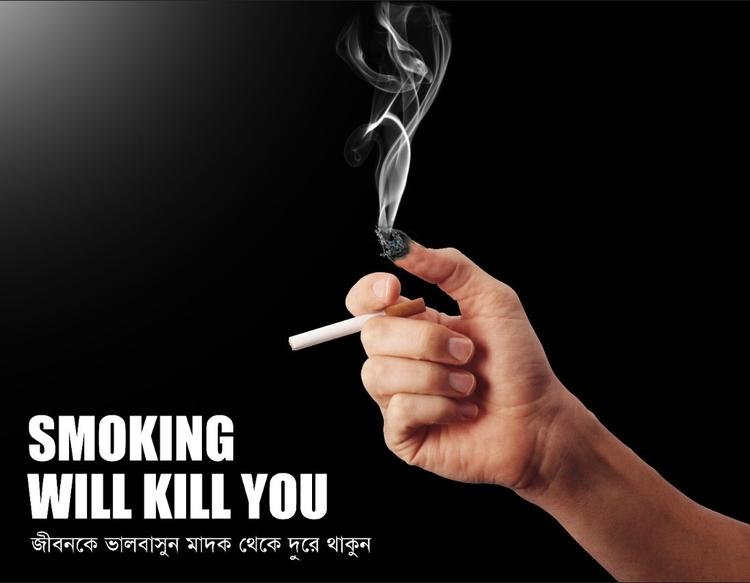 Anti Smoking Poster - anti-smoking - imtiazxx | ello