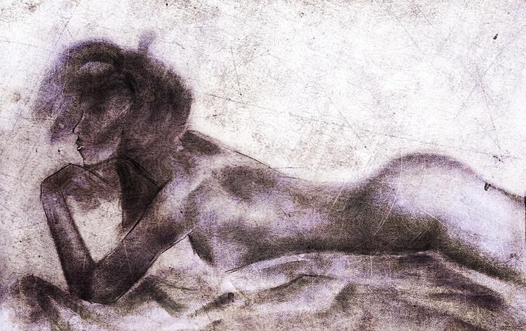 Pastel study - draw, drawing, drawings - danteed | ello