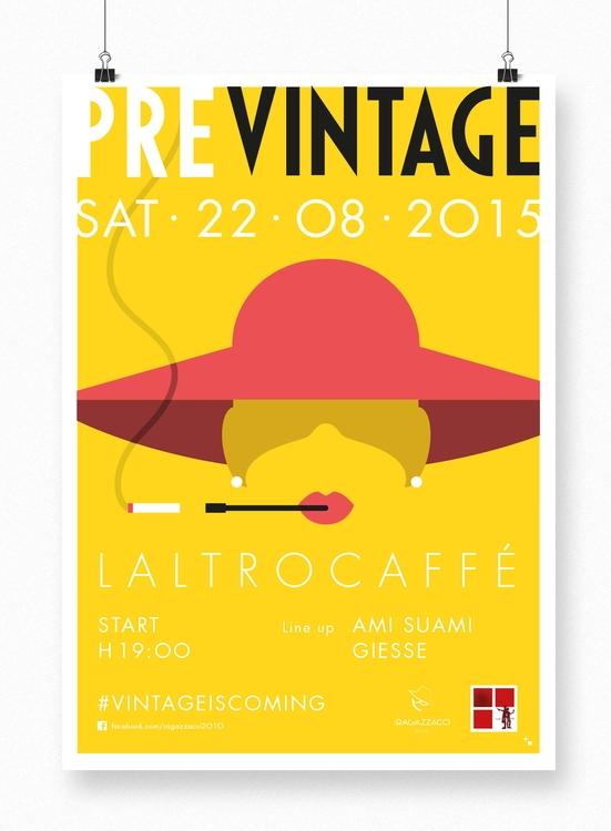 Preview Vintage Party 2015 - illustration - maestroambrosiano | ello