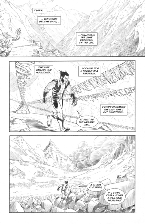 Page 10 - pencildrawing, comicbooks - alexfemenias | ello