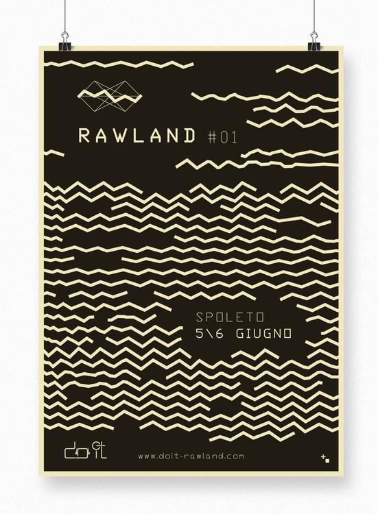 Rawland - 01, graphicdesign, posterdesign - maestroambrosiano | ello