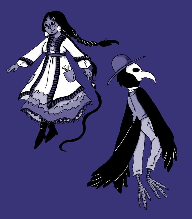 character design - illustration - norathebean | ello