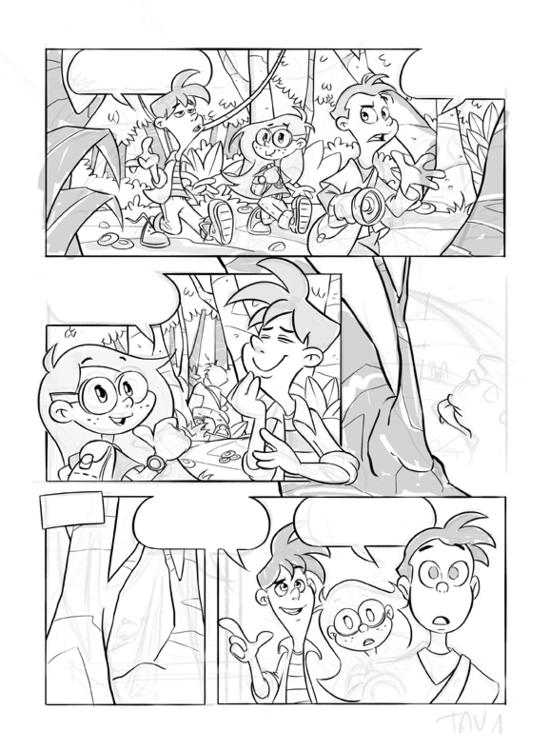 Castagna Knights 1 - wip - comics - number_six-1387   ello