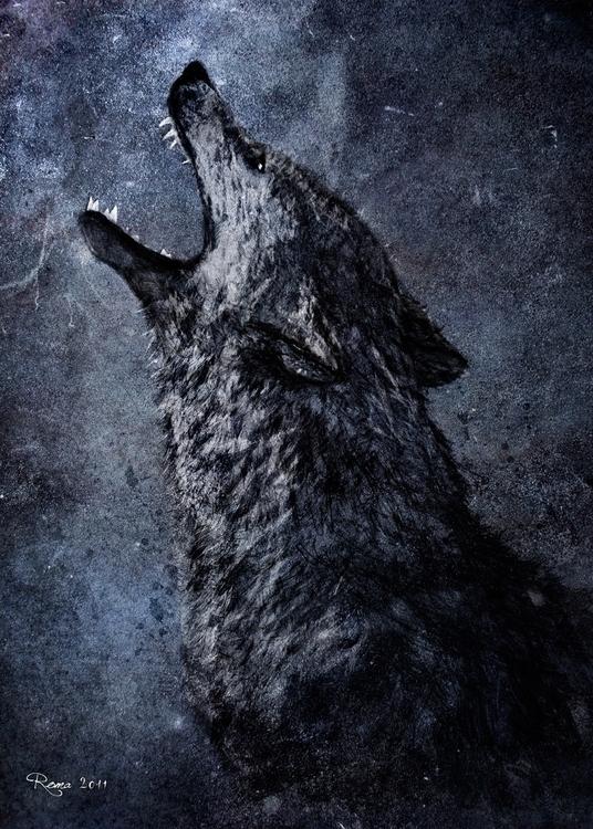 Wolf - romaartwork | ello