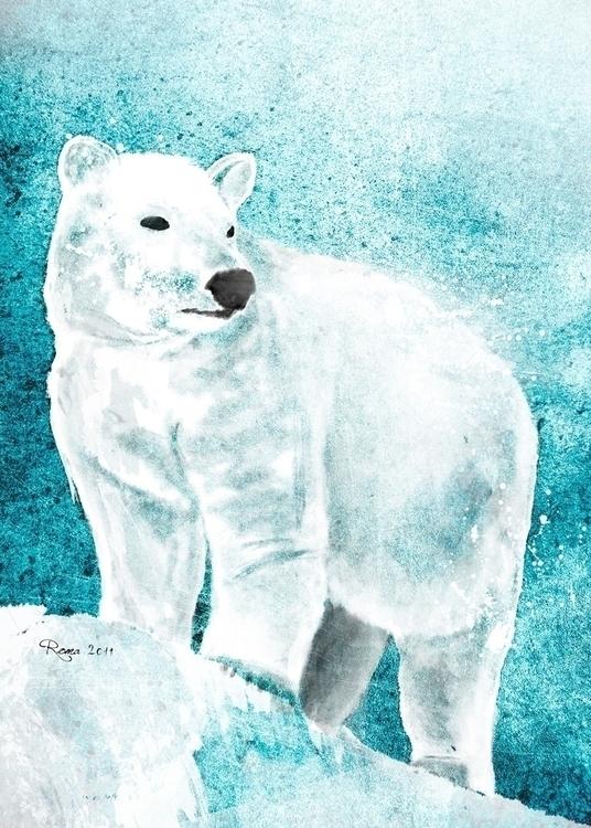 White Bear - romaartwork | ello