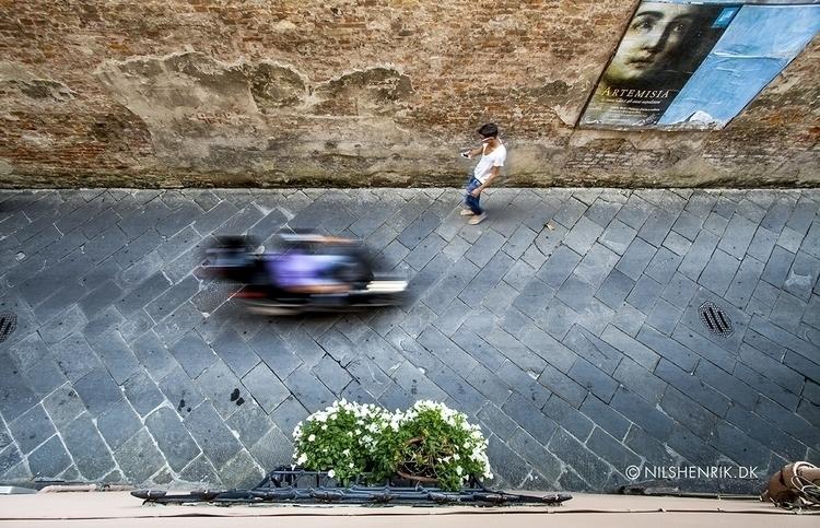 Lucca Street - photography, colorphoto - nilshenrikdk | ello