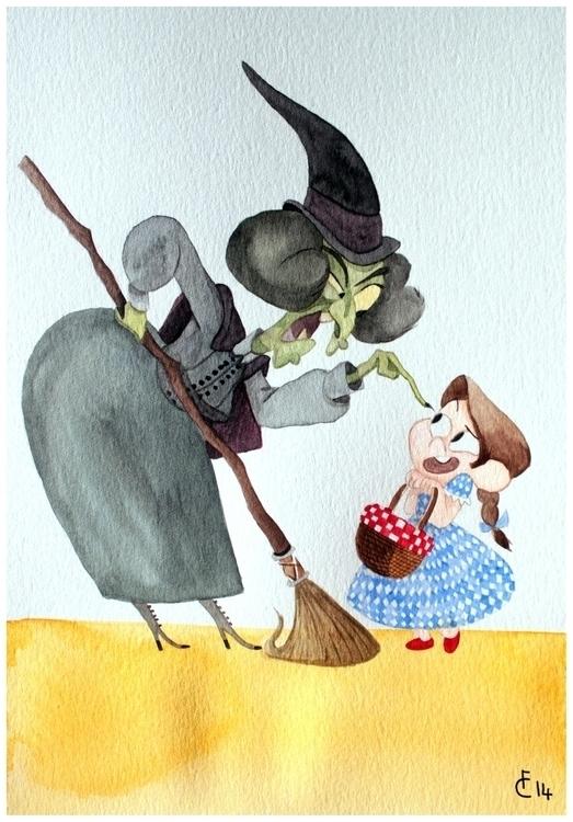 Wicked Witch West - wickedwitch - finbarcoyle | ello