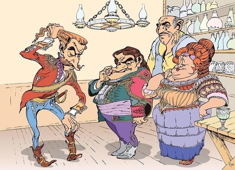 Baron Munchausen cartoon - BaronMunchausencartoon, - grabbo | ello