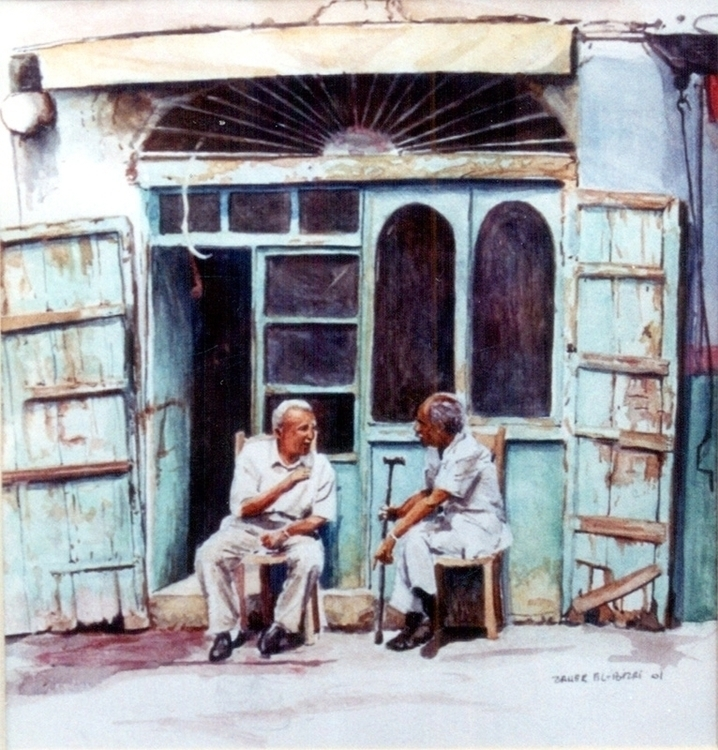 Conversation Watercolors paper - zaherbizri | ello