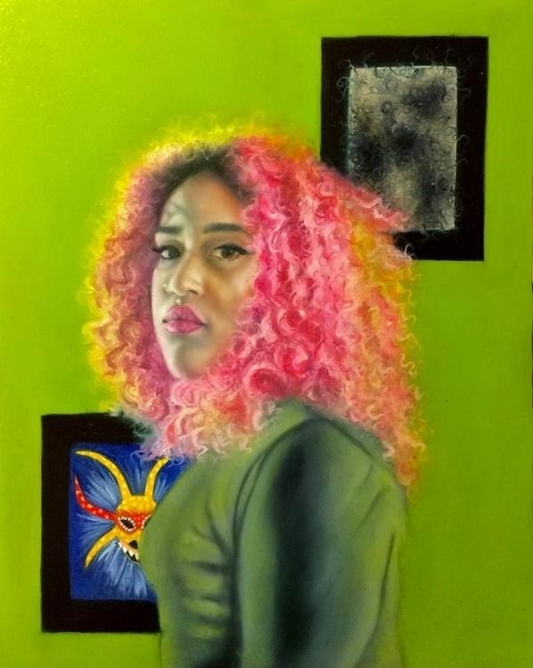 Princess Bubblegum Oil Mylar mo - kimberlytorres-8151 | ello