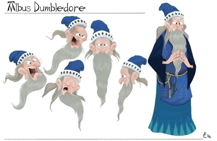 Albus Dumbledore. Character des - finbarcoyle | ello