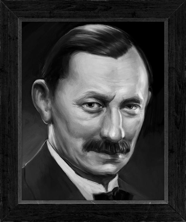 Vlasta Burian Portrait created  - jakubcenkl | ello