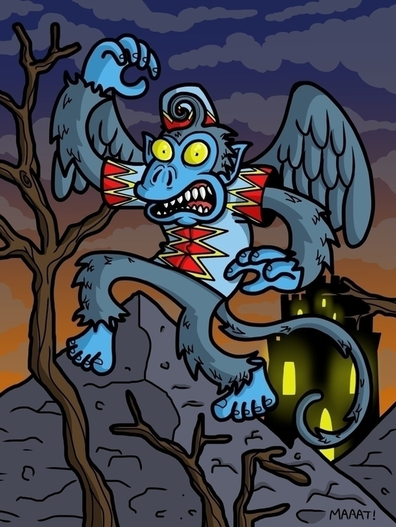 Flying Monkey - flyingmonkey, wickedwitch - mattyleegross   ello