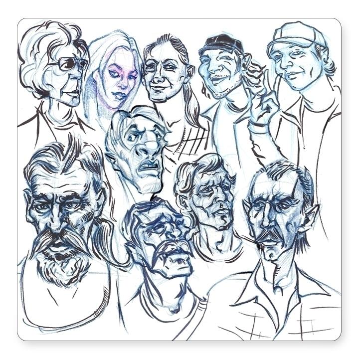 doodles sketchbook - davidkelmer - dkelmer | ello