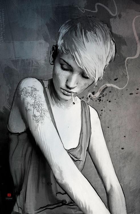 love cigarette - kryskoarts | ello
